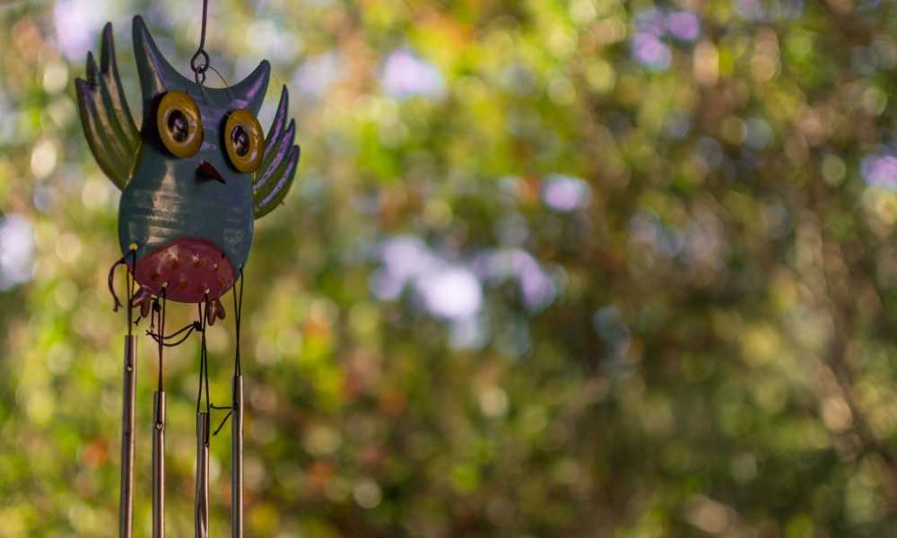 GPISEN Solar Hummingbird Wind Chimes Review
